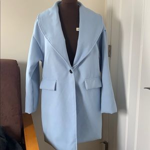 Jackets & Blazers - Winter Clearance Light Blue dress coat *⛄️